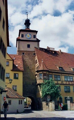 Rothenburg - White Tower and Judentanzhaus