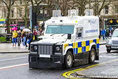 PSNI - Armoured Land Rover Penman - Tactical Support Group (Agent Tyler Durden) Tags: psni policeservicenorthernireland police psnilandrover policelandrover policeforce policecar landrover landroverpangolin landroverpenman landrovertangi landroverdefender tacticalsupportgroup tacticalpolice tsg riotpolice emergency emergencyvehicle emergencyservice belfast belfastcity armouredlandrover armouredcar alr penman pangolin