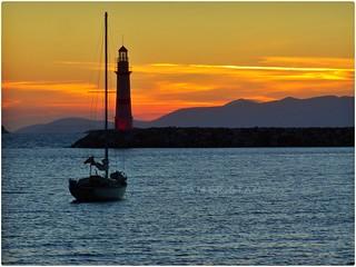 Sunset at Turgutreis.
