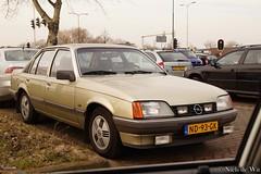 1985 Opel Rekord E 2.0 LS (NielsdeWit) Tags: nielsdewit nd93gk woerden 92thr3