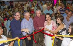 Momento da inauguração oficial da unidade Sesc Saúde Mulher em Nova Cruz