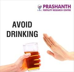 Avoid Drining to Boost Fertility (Prashanth Fertility Hospital) Tags: