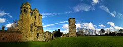 Remain (little_frank) Tags: ashbydelazouch castle leicestershire england landscape tower middleages history azure walls remains ruin horizon panorama historical britain uk unitedkingdom monument landmark touristattraction englishheritage gardens sunny hastingstower building