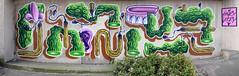 HNRX (HBA_JIJO) Tags: streetart urban graffiti vitry vitrysurseine art france hbajijo wall mur painting peinture paris94 spray panorama urbain