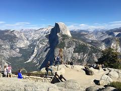 glacier point view (Yosemite Chic) Tags: cathedrallakes elcapitan fourmiletrail giantsequoias glacierpoint halfdome mariposagrove nevadafalls tiogaroad tuolumnemeadows vernalfalls wawona yosemitechic yosemitefalls yosemitenationalpark yosemitevalley yosemitechiccom