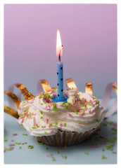 359 Happy 10 Years! (Helena Johansson 71) Tags: birthday macromondays happy10years macro food eatable cupcake muffin candle nikond5500 d5500 nikon project365 cake