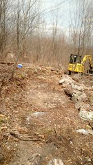 Off-road Vehicle Construction (Maryland DNR) Tags: 2017 offroadvehicletrail orv construction savageriver stateforest