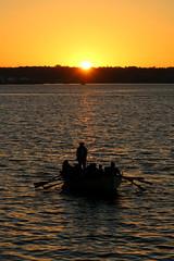 09. Rowing at sunset (Misty Garrick) Tags: sandiegoca sandiego sunset sandiegosunset pirate boat pirateboat