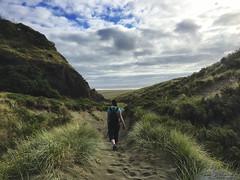 2017_03_NewZealand_iPhone_10 (Lightning_Todd) Tags: newzealand photostream karekarebeach beach hike tramping