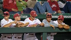 Mississippi State - Game 1-38 (Rhett Jefferson) Tags: arkansasrazorbacksbaseball ericcole hunterwilson jacksonrutledge jordanmcfarland mattburch