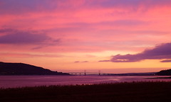 Sunrise over the Kessock Bridge, Beauly Firth, Inverness-shire, Scottish Highlands (HighlandArt13) Tags: sunrise kessock bridge inverness invernessshire beauly firth scottish highlands scotland