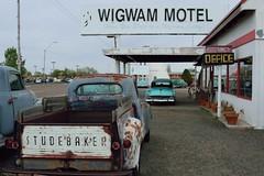 Wigwam Motel on Route 66 (thokaty) Tags: studebaker holbrook arizona route66 vintagecar wigwammotel roadtrip travelphotography