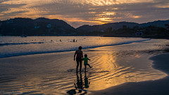 On their way home (kensparksphoto) Tags: zihuatanejo zihua mexico beach sunset madera
