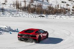 Aventador S LP740-4 (Nico K. Photography) Tags: lamborghini aventador s lp7404 red snow drifting supercars nicokphotography italy livigno
