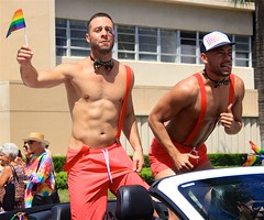 Two dudes dancing in a convertible (LarryJay99 ) Tags: unopposed sexymen hotmen arms urban rainbow two dudes guys people publicplace dude florida dancing mustaches hunks labels facialhair gaymen shoulders handsomemen candid man episcopalchurch noodles ondisplay prideparade shirtless streets goatee legs faces bulges nomads men armpits church lakeworth male unaware attractive canon60d beards guy rainbowflags canonefs18135mmf3556is bulge hotman hairydude
