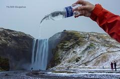 74/365 Skogafoss (under_exp0sed) Tags: skogafoss 3652017 iceland waterfall waterbottle