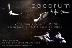Exhibition - Decorum - France (The Antic Staatsoper) Tags: exhibition photographersontumblr photography decorum nice france