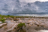Darwin wet season (NettyA) Tags: 2016 australia darwin nt nightcliff northernterritory sonya6000 clouds coastal mangroves rockplatform rocks storm thunderstorm wetseason water sky sea