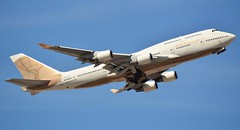 Atlas Air Boeing 747 departure from Phoenix Sky Harbor (MrMD11) Tags: atlasair boeing 747 phoenixskyharbor phoenix skyharbor airport spotting airliner jetliner airplane takeoff