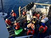 25 rescued from vessel taking on water (Coast Guard News) Tags: sockeye uscg d11 sandiego jhoc california unitedstates us