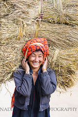 1094w (Nadia Isakova) Tags: asia asian southeastasia myanmar burma burmese shanstate inlelake women woman oldwoman straw load 1 one person sightseeing symbol january vertical portrait nadiaisakova nadia travel destination traveldestinations tourism holidays vacation leisure trip