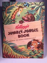 Kellogg's Jumbley Jungle Book Front (toyfun4u) Tags: kelloggs cereal