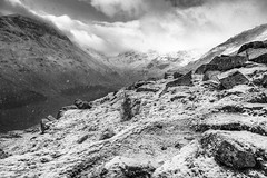 snow above Grisedale (Bridgit Weekes) Tags: lakedistrict landscape winter mountains cumbria snow moody storm weather grisedale helvellyn