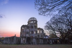 Hiroshima Peace Memorial (Atomic Bomb Dome) (FranksValli) Tags: accidentsanddisasters atomicbomb atomicbombdome atomicbombingofhiroshima buildingexterior builtstructure colorimage damaged dome famousplace hiroshimapeacememorial hiroshimaprefecture history japan nopeople nuclearweapon photography ruined symbolsofpeace tourism travel traveldestinations unescoworldheritagesite war weaponsofmassdestruction worldwarii 原爆ドーム 広島市 広島平和記念碑