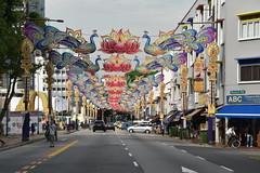 Little India, Singapore (Manoo Mistry) Tags: singapore littleindia buildings street outdoor enhancement nikond5500body nikon tamron tamron18270mmzoomlens diwali decoration light