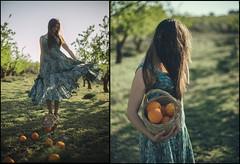 viento y naranjas agrias (jotaaguilera) Tags: nikon d610 nikkor 50mmf14g retrato portrait dof bokeh luz light naranja orange primavera spring verde green people person
