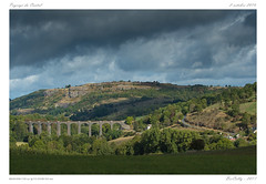 Paysage du Cantal - Cherol (BerColly) Tags: farnce auvergne cantal cherol paysage landscape viaduc ciel sky nuages clouds voieferree railroad bercolly google flickr