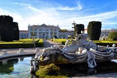 Queluz Palace (Biolchini) Tags: portugal lisbon lisboa queluz palace real royal statue palácio chafariz garden