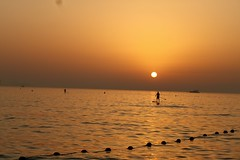 Jumeirah beach sunset (ritikatiwari23) Tags: nature silhouette jumeirah dubai natureandnothingelse kayaking