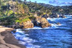 Gibson Beach, Carmel (sagar.aragorn) Tags: pointlobos gibsonbeach carmel carmelbythesea pch1 pacific coast highway monterey bigsur landscapes seascapes landscapephotography california beach sunset