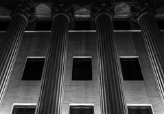 Slow dive (Jason OX4) Tags: supremecourt blackandwhite light lighting columns greek architecture washingtondc dc government justice judge judicial perspective theusgovernmentisfallingapart