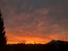Good morning :D (Dru!) Tags: sunrise clouds chilliwack bc britishcolumbia canada