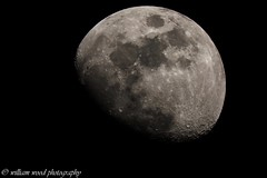 06/04/2017 @21:01 Canon eos 450D Celestron edge 8HD (WRW Photography) Tags: canon canoneos canoneos450d canon450d 450d celestron celestronedge8hd telescope reflector astronomy astrophotography nightphotography photo photography moon waxing waxinggibbous gibbous luna