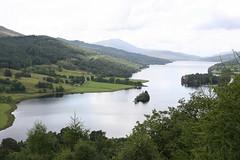 Photo of Blick vom Queen�s View auf Loch Tummel