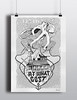 At what cost poster (Kone Graffiti) Tags: kone graffiti illustration octopus sketch style graphic poster design drawing