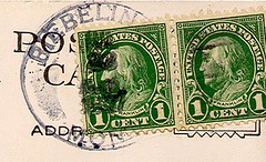 Riebeling, Montana (Postmarks from Montana) Tags: montana riebeling postmark postagestamp 1927 july23