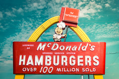 The Golden Arch (hartsaw) Tags: mcdonalds greenbay wisconsin neon sign signage vintage retro americana