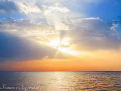 The Light of the Divine (Francesco Impellizzeri) Tags: trapani sicilia sunset clouds ngc