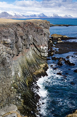 The cliff (rafpas82) Tags: iceland hellnar seaside islandia headingnorth stones cliff cliffs scogliera sea mare nikond7000 d7000 1770sigmacontemporary 1770sigma 1770 polarizzatore polarizer