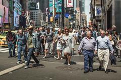 Steppin out (stocks photography.) Tags: michaelmarsh manhattan steppinout newyork streetphotography photographer documentary photography timessquare