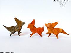 Le désir - Desire. (Magic Fingaz) Tags: anjing barthdunkan chien chó dog hond hund köpek origami origamidog perro pies пас пес собака หมา 개 犬 狗