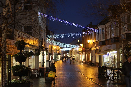 Sidmouth, Devon - Christmas lights Dec 2016