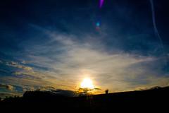 Faint Right Side Parhelion (Sundog) 7:11pm BST 23/04/17 (Spicey_Spiney) Tags: sundog parhelion