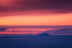 Arctic Dusk Pastels (Atmospherics) Tags: greenland iceburg icescape ilulissat diskobay pinks arcticdusk dusk icefjord ice greenlandwinter atmospherics arcticcircle arctic arcticcolour polar icecap