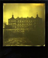 Haunted (o_stap) Tags: palace impossibleproject believeinfilm film600 polaroid600 polaroid ishootfim duochrome castle instant analog roidweek polaroidweek instagramapp square squareformat iphoneography