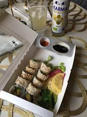Middag 18/4 (Atomeyes) Tags: mat kombucha sushi ris fisk